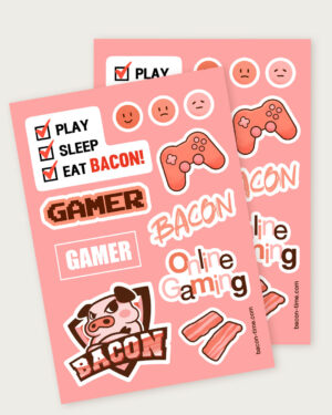 Bacon Time Sticker pack ver.1